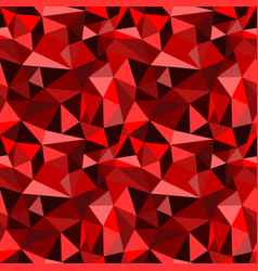 Seamless red abstract geometric rumpled vector