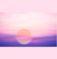 sunrise vector image vector image