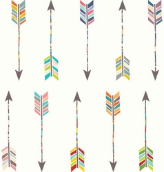 Tribal arrow collection vector