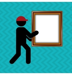 video icon design vector image vector image