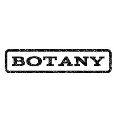 Botany watermark stamp vector