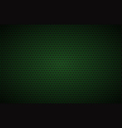 Geometric polygons background black and green vector