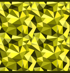 Seamless yellow abstract geometric rumpled vector