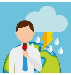 Weather report vector