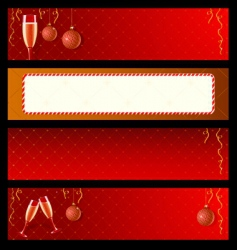 New year labels vector