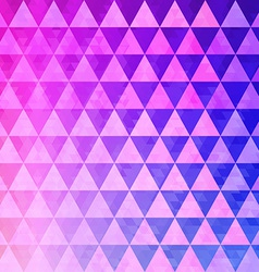 Pattern of geometric shapes triangle mosaic vector