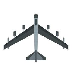 Plane icon flat style vector image