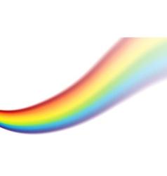 Rainbow swirl vector image