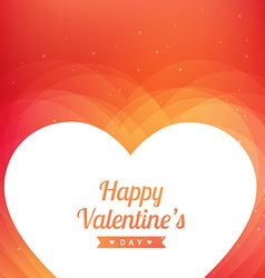valentines day greeting design vector image