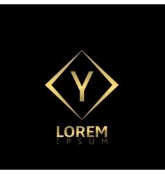 Y letter logo vector