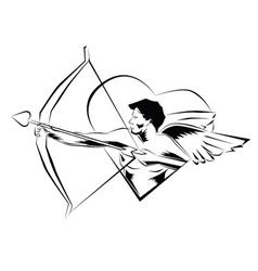 cupid illustration vector image