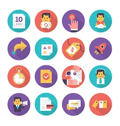 Customer care and commerce icons vector