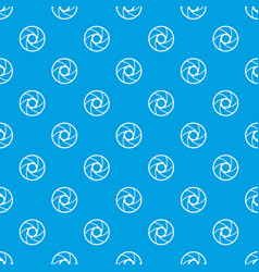 professional objective pattern seamless blue vector image vector image