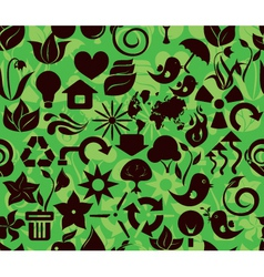 recycle pattern1 vector image