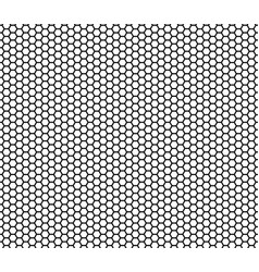 seamless honeycomb pattern background vector image vector image