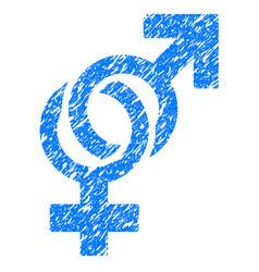 sexual symbols grunge icon vector image