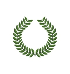 Wreath icon rustic design graphic vector