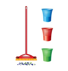janitorial cleaning vector image