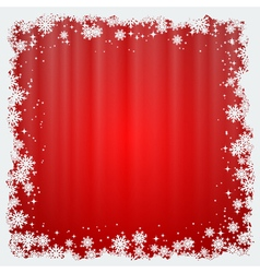 Christmas and new year red blurry background vector