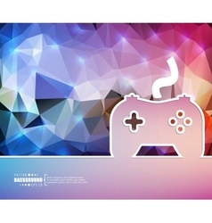 Creative controller art vector