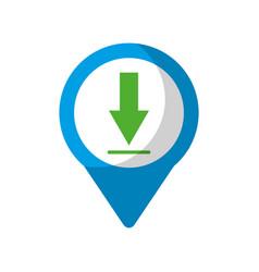Download social media round pointer we vector
