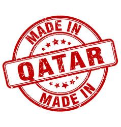 Made in qatar vector