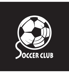 soccer football logo vector image