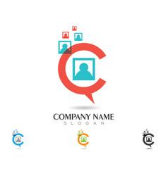 speech bubble icon logo vector image