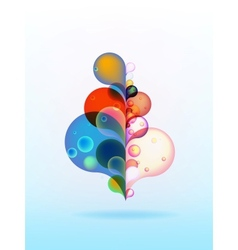 colorful background with copy space  EPS10 vector image