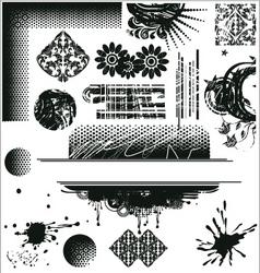 grunge2 vector image