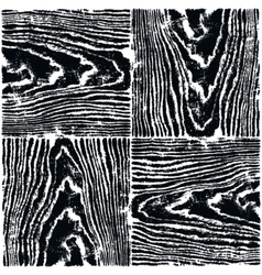 Black wood texture background natural pattern vector image vector image