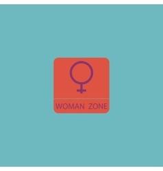Female symbol woman vector