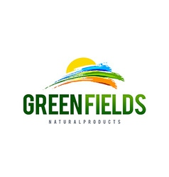 Green field logo vector