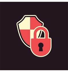 Lock shield protection vector