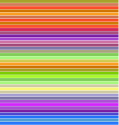 Colorful horizontal line pattern background vector