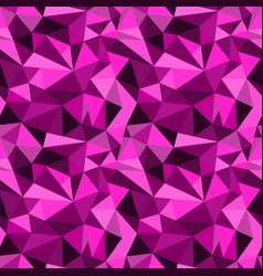 Seamless pink abstract geometric rumpled vector