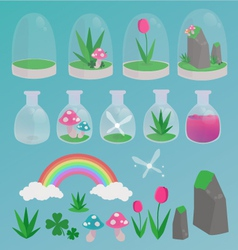 Spring magic vector