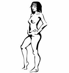 Nude vector