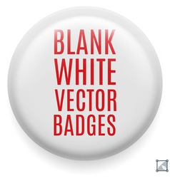Badge vector image vector image