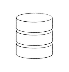 Database data center icon image vector