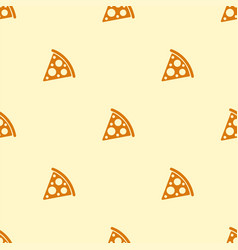 Pizza seamless pattern texture bacground vector