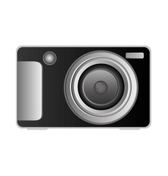 Technologic digital camera icon vector