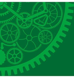 Gear background vector