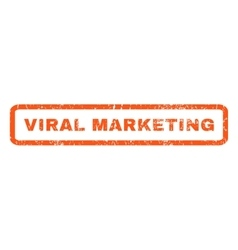 Viral marketing rubber stamp vector