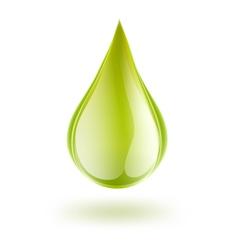 petrol drop vector image