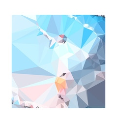 Air superiority blue abstract low polygon vector
