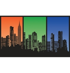 city3 vector image vector image