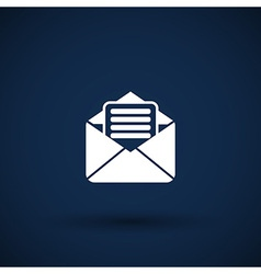 Envelope icon letter post email envelope vector