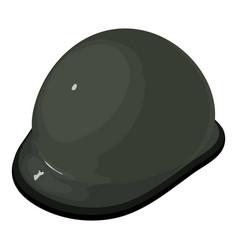 helmet equestrian icon isometric 3d style vector image