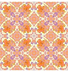 Luxury Damask seamless tiled motif pattern vector image